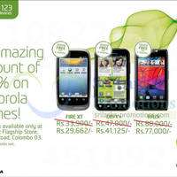 Read more about Etisalat Motorola Mobile Phones 12.5% Off Promotion @ Galle Road 13 Jan 2013