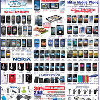 Read more about Infinity Store (Mitsu) Smartphones & Mobile Phones Price List Offers 13 Jan 2013