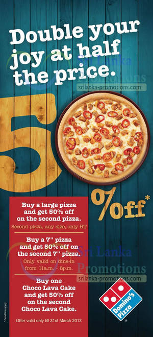 List of Domino's Pizza related Sales, Deals, Promotions ...