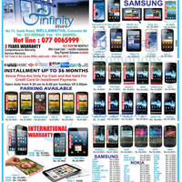 Read more about Infinity Store Smartphones & Mobile Phones Price List Offers 24 Feb 2013