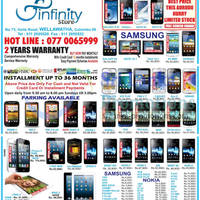 Read more about Infinity Store Smartphones & Mobile Phones Price List Offers 24 Mar 2013