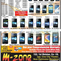 Read more about M-Zone Smartphones & Mobile Phones Price List Offers 25 Mar 2013