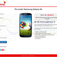 Read more about Dialog Samsung Galaxy S4 Pre-Order & Price Now Available 10 Apr 2013