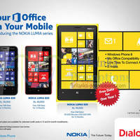 Read more about Dialog Nokia Lumia Smartphone Offers With FREE Internet Data 2 Apr 2013
