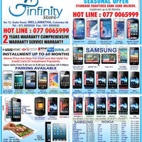 Read more about Infinity Store Smartphones & Mobile Phones Price List Offers 21 Apr 2013