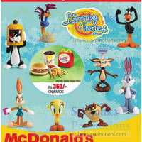 Read more about McDonald's Sri Lanka FREE Looney Tunes Toy With Every Happy Meal 21 Apr 2013