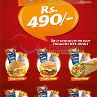 Read more about KFC Rs 490 Combo Meal Offers 21 May 2013