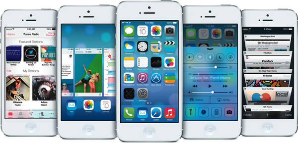 Featured image for Apple unveils NEW iOS 7 For iPhone, iPad & iPod 11 Jun 2013