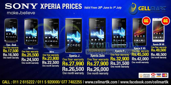 Featured image for Cellmart Smartphones & Mobile Phone Offers 26 Jun 2013
