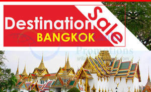 Featured image for SriLankan Airlines Bangkok Promotion Air Fares Promotion 20 – 30 Jun 2013