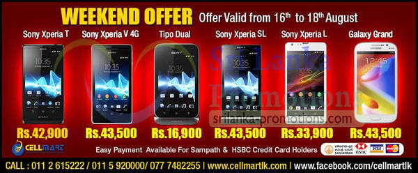 Featured image for Cellmart Smartphones & Mobile Phone Offers 17 Aug 2013