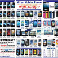 Read more about Mitsu Mobile Phone Smartphones & Mobile Phones Price List Offers 11 Aug 2013