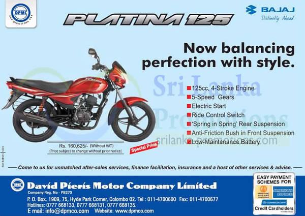 Featured image for Bajaj Platina 125 Motorbike Features & Price 15 Sep 2013