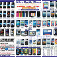 Read more about Mitsu Mobile Phone Smartphones & Mobile Phones Price List Offers 15 Sep 2013