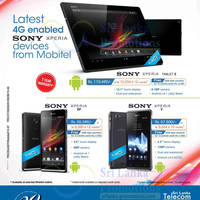 Read more about Mobitel Sony Xperia Smartphone Offers 15 Sep 2013