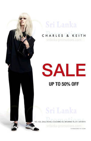 Featured image for Charles & Keith Up To 50% OFF SALE @ Galle Road 23 Jan 2014