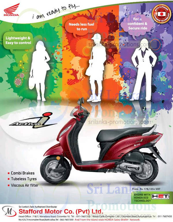 Featured image for Honda Activa i Bike Features & Price 30 Jan 2014
