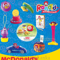 Read more about McDonald's FREE Toy With Every Happy Meal 30 Jan 2014
