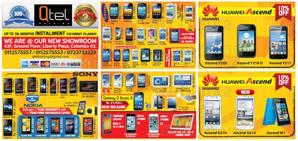 Featured image for Qtel Holdings Sony, Samsung, Nokiia & More Smartphone Price Offers 5 Jan 2014