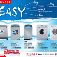 Read more about Singer Washing Machines Offers 23 Jan 2014