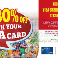 Read more about Cargills FoodCity 30% OFF For Visa Cardholders 23 Feb - 22 Mar 2014