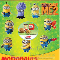Read more about McDonald's FREE Despicable Me 2 Toy Promo 7 Feb 2014