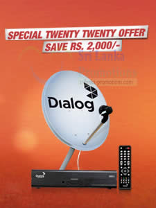 Featured image for Dialog TV FREE All Channels For New Connections 20 Mar – 6 Apr 2014