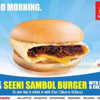 Read more about McDonald's NEW Seeni Sambal Burger 2 Mar 2014
