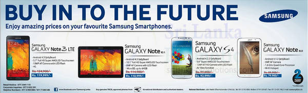 Featured image for Samsung Tablets & Smartphones Reduced Prices Offer 1 Mar 2014