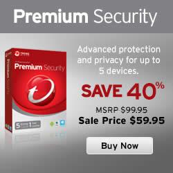 Featured image for Trend Micro 40% OFF Titanium Premium Security 19 – 30 Apr 2014