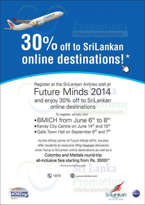 SriLankan Airlines 4 Jun 2014