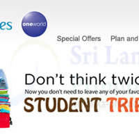 Read more about SriLankan Airlines Student Triple Bonanza 3 May - 31 Oct 2014