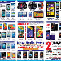 Read more about Mitsu Mobile Phone Smartphones & Mobile Phones Offers 10 Aug 2014