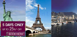 Featured image for Qatar Airways Up To 25% OFF Promotion Air Fares 11 – 15 Aug 2014