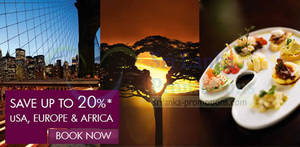 Featured image for Qatar Airways Up To 20% OFF USA, Europe & Africa 29 – 31 Aug 2014