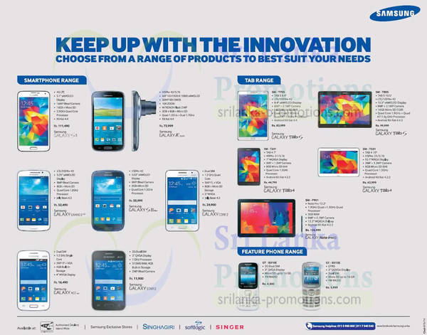 Featured image for Samsung Smartphones & Tablets No Contract Offers 10 Aug 2014