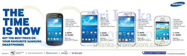Featured image for Samsung Galaxy Smartphones No Contract Offers 5 Aug 2014