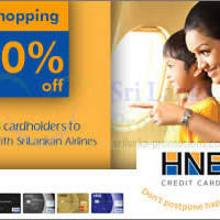 Read more about SriLankan Airlines 20% OFF For HNB Cardholders 5 - 20 Aug 2014