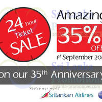 Read more about Srilankan Airlines 20% OFF All Flights 24hr Promo 1 Sep 2014
