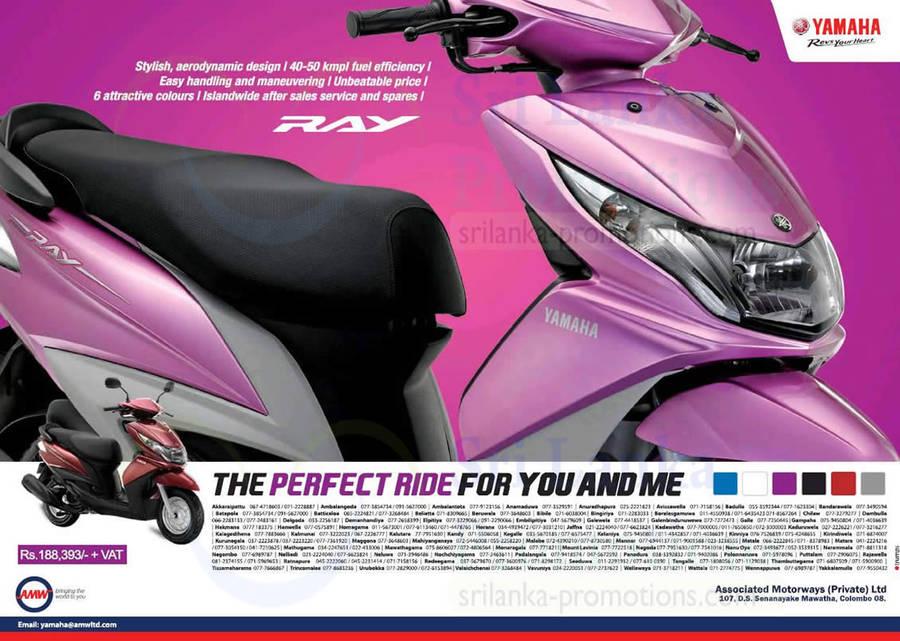 Yamaha 10 Aug 2014 Yamaha Ray Scooter Features Price