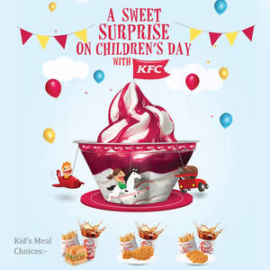 Featured image for KFC Children's Day Promotion 1 Oct 2014