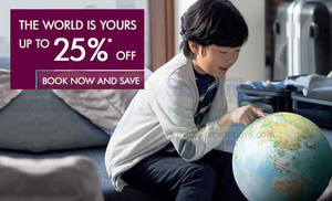 Featured image for Qatar Airways Up To 25% OFF 3 Days Promo Air Fares 15 – 18 Sep 2014