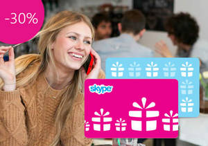 Featured image for Skype 30% OFF Gift Credits Discount Coupon Code 30 Sep 2014