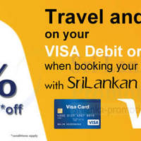 Read more about SriLankan Airlines 15% OFF With Visa Cards 15 - 30 Sep 2014