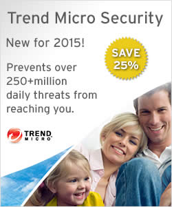 Featured image for Trend Micro NEW 2015 Security Products 25% OFF Launch Promo 30 Sep 2014