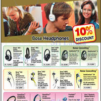 Read more about Bose Headphones Offers @ Siedles 14 - 31 Oct 2014