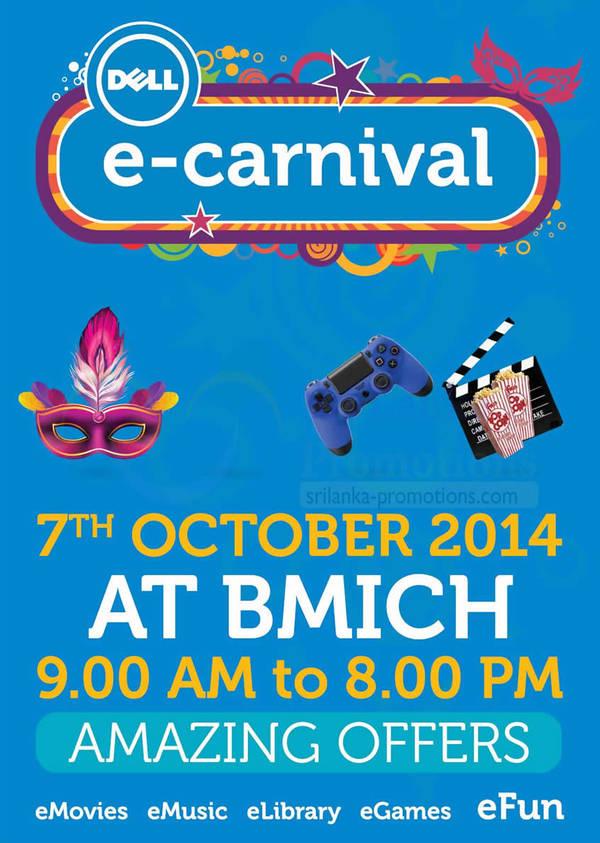 Featured image for Dell E-Carnival @ BMICH 7 Oct 2014
