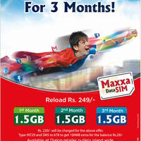 Read more about Dialog Maxxa Data SIM Reload Rs 249 & Get 1.5GB 3-Mth Data 5 Oct 2014