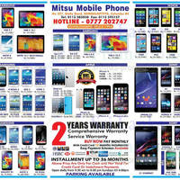 Read more about Mitsu Mobile Phone Smartphones & Tablets Offers 5 Oct 2014