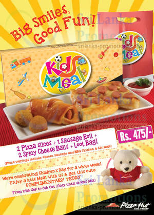 Featured image for Pizza Hut Children's Day Promotion 29 Sep – 5 Oct 2014